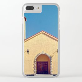 Catholic Church in Creel, Mexico Clear iPhone Case