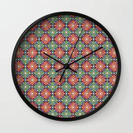 Medieval Diamonds Wall Clock