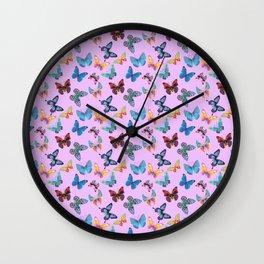 Butterflies Wall Clock