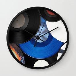 Vinyls Wall Clock