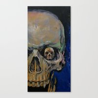 vampire Canvas Prints featuring Vampire by Michael Creese