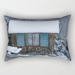 Stable On Wheels Rectangular Pillow