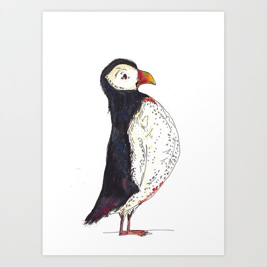 The Puffin Art Print