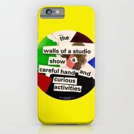 The Walls Of A Studio iPhone Case