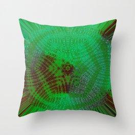 Greener Pattern 12 Throw Pillow
