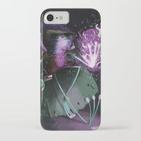 wizard iPhone & iPod Cases featuring Wizard by David Pavon