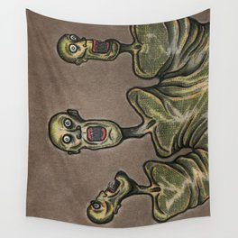 Three Headed Abomination Wall Tapestry