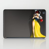 snow white iPad Cases featuring Snow White by Greg-guillemin