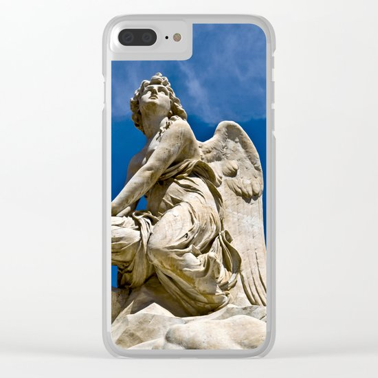 Song of the Angels Clear iPhone Case