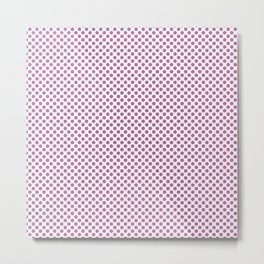 Spring Crocus Polka Dots Metal Print