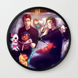 Bedtime Stories with Markiplier, Jacksepticeye and FNAF Wall Clock