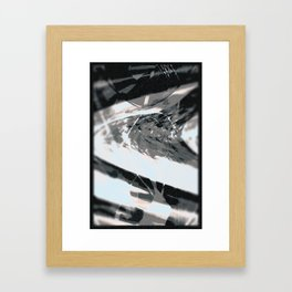 Round The Bends Framed Art Print