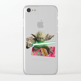 Hover Yoda Clear iPhone Case