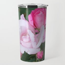 Roses In Different Stages Travel Mug