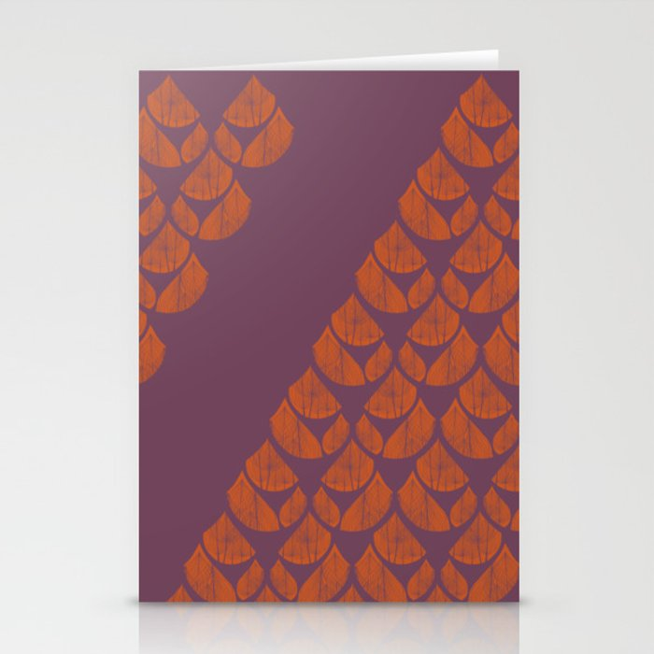Orange Drops Stationery Cards