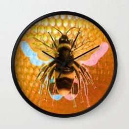 3-Bees Wall Clock