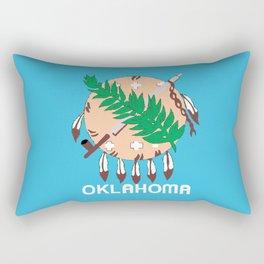 Oklahoma State Flag Rectangular Pillow