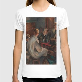 Alvar Cawen - Members of The November Group - 1921, man, seating, art T-shirt