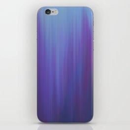 Violet Chromatic iPhone Skin