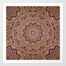 Mandala 107 Art Print