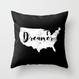 Dreamer USA Throw Pillow