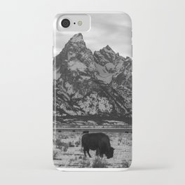 Bison and the Tetons iPhone Case