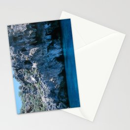 NATURE'S WONDER #4 - BLUE GROTTO #art #society6 Stationery Cards