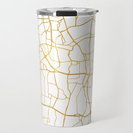 JAKARTA INDONESIA CITY STREET MAP ART Travel Mug
