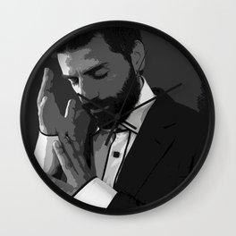 Oscar Isaac 2 Wall Clock