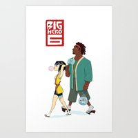 Gogo and Wasabi Art Print
