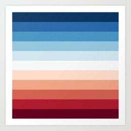 Flag Gradient Art Print
