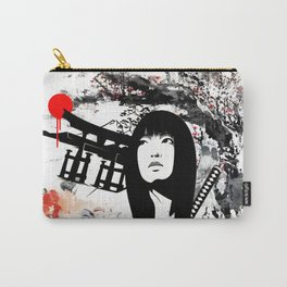 Japanese Geisha Warrior Carry-All Pouch