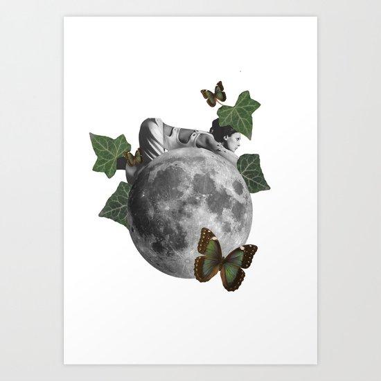 new born nature Art Print
