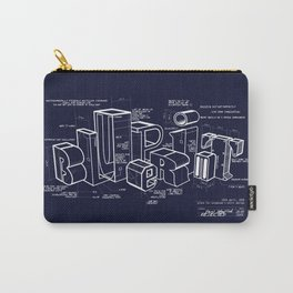 Blueprint Carry-All Pouch