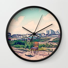 A Redevelopment Area Wall Clock