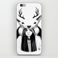 wildlife iPhone & iPod Skins featuring Wildlife by Lilyloca