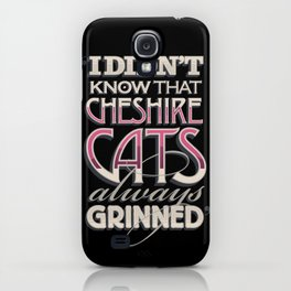 Cheshire Cats iPhone Case