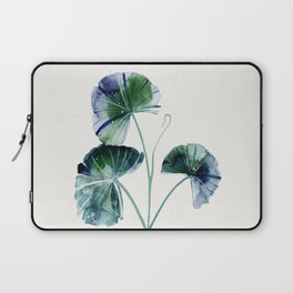 Water lily leaves Laptop Sleeve