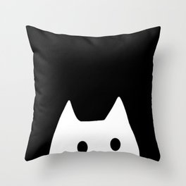 cat-4 Throw Pillow