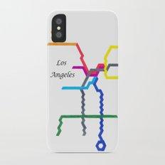 Los Angeles iPhone X Slim Case