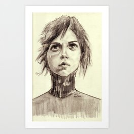 Looking into a Blue Sky Art Print