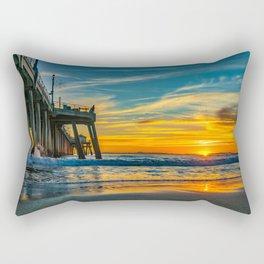 Sunset Splash Rectangular Pillow