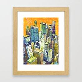 Midtown Manhattan Framed Art Print