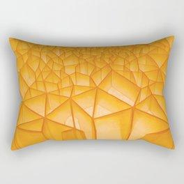 Geometric Plastic Rectangular Pillow