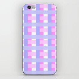 Pink versus Puple iPhone Skin