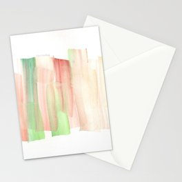[161228] 19. Abstract Watercolour Color Study Watercolor Brush Stroke Stationery Cards