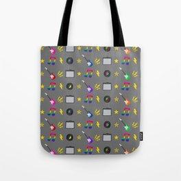 Punk Rock Rainbows Tote Bag