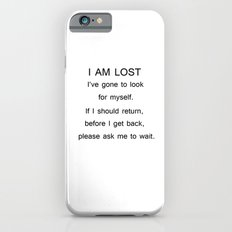 I am lost iPhone 6s Slim Case