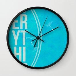 vert Wall Clock