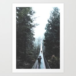 Vancouver Forest 2 Art Print